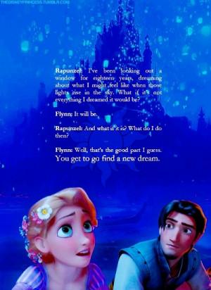 Disney Princess Rapunzel and Flynn
