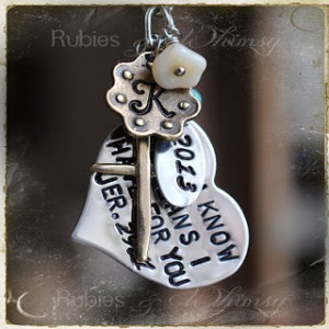 Adoption Fundraiser: Bible Verse Hand Stamped Key Chain Bidding ends ...