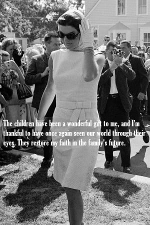 QUOTES: Jackie Kennedy - Onassis speaks..