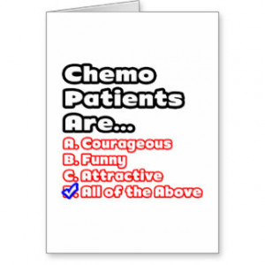 Chemo Patient Quiz Greeting Cards
