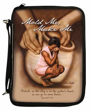Mold Me, Make Me Bible Cover