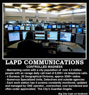 Los Angeles Police Communication Center