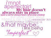 Perfect Imperfection Quotes: Imperfection imperfections quote quotes ...