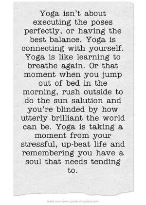 morning yoga quotes quotesgram