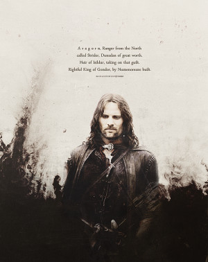 lord of the rings aragorn LOTR The Lord of the Rings lotredit ...