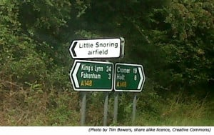 Funny Road Signs Gallery Spiced up with Lots of Humorous Street Names