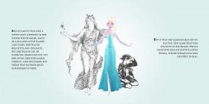 ... and Anna Disney's Frozen Hans Christian Andersen's The Snow Queen