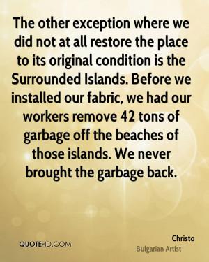 Christo Quotes