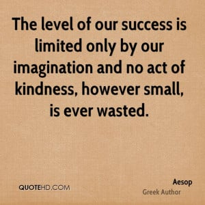 Aesop Success Quotes