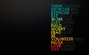 ... Inspirational Typography HD Wallpapers for Desktop, iPhone and Android