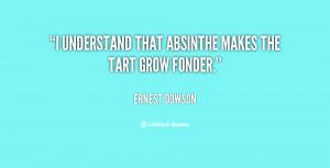 """understand that absinthe makes the tart grow fonder."""""""