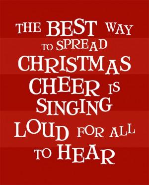 Christmas Cheer (red) - Buddy the Elf