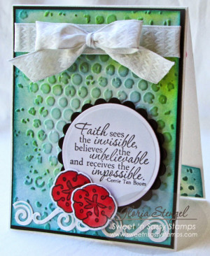 Faith - Sweet 'N Sassy Stamps