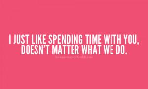 spendingtime