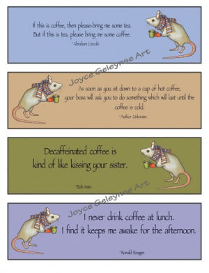 Funny Coffee Quotes.