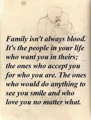 Family doesn't have to be blood ♥ I have some of the bestest family ...