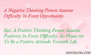 Quotes About Positive Attitude Towards Life #1