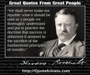 My favorite president was William Howard Taft followed by Teddy ...