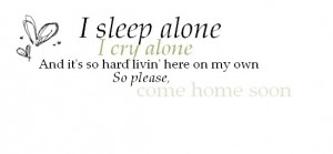 come home soon lyrics photo alone.jpg