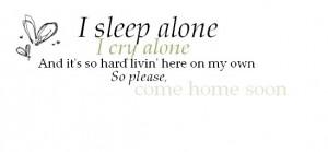 come home soon lyrics photo alone.jpg