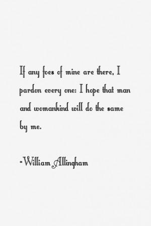 William Allingham Quotes