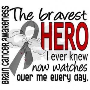 brain cancer christmas cards   Bravest Hero I Knew Brain Cancer ...