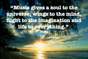 Music has the ability to lift you from your darkest moments and ...