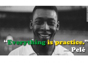 Pele Quote graphic