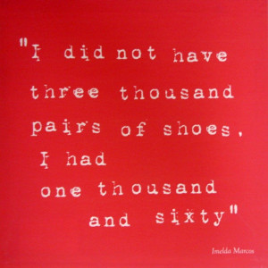 Image forFamous Sayings Shoes Printed Canvas