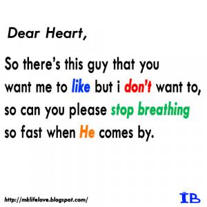 DEAR HEART..