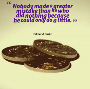 More Charity Quotes: