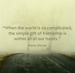 Maria Shriver inspirational quote for caregivers