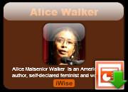 Alice Walker Powerpoint