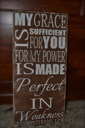 wood signs with sayings | , hand painted wood signs, scriptural signs ...
