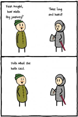Classic medieval humor