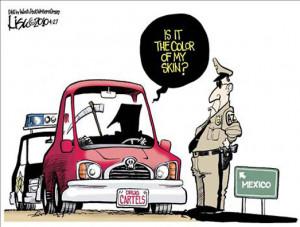 Trail Of Tears Political Cartoon
