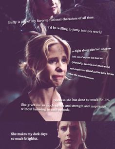 Buffy The Vampire Slayer Love Quotes This is such a perfect quote