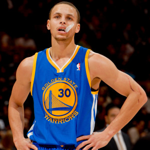 Steph Curry Throws Mouthguard in Anger, Gets Technical (Video)