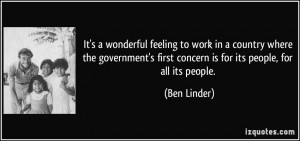 More Ben Linder Quotes