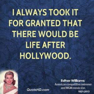 Esther Williams Quotes