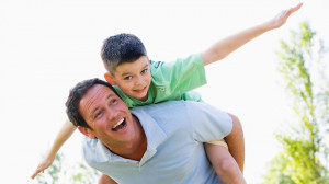 ... separated dads want more time with their kids, while one in four don't