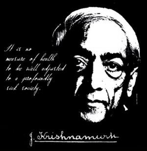Jiddu Krishnamurti Quote T Shirt Radical Change in Mankind FREE US ...
