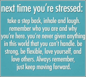Funny Quotes For Stressed People #47