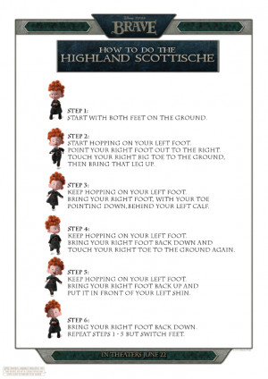 Disney/Pixar BRAVE – Get Your Scottish Dance On & Fun Scottish Terms ...