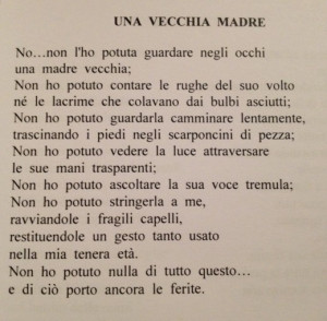 Celebrating Mother's Day with an Italian Poem. Click link for it's ...