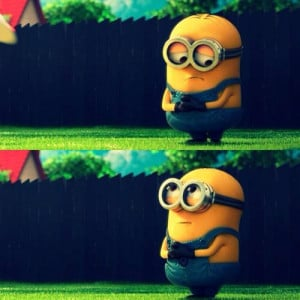 Minion Is Sorry & Sad For Disappointing You In Despicable Me