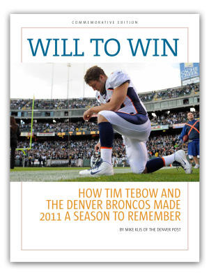 Got our copy of Will to Win: How Tim Tebow and the Denver Broncos Made ...