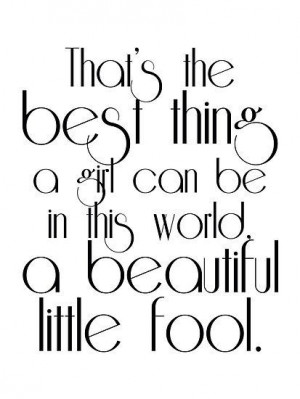 The Great Gatsby Daisy's quote