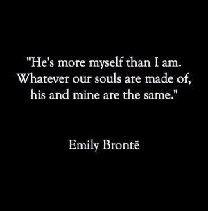 The quote Catherine said to Heathcliff.