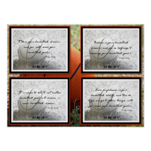 Basketball Quotes Poster 17-20